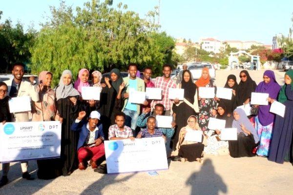 big team -Upshift - UNICEF - Social Entrepreneurship - Social Innovation - Social Design - Changemaker training