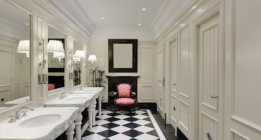 toilet, hotel londres, design, stretegy design, interior design, space design, future luxury