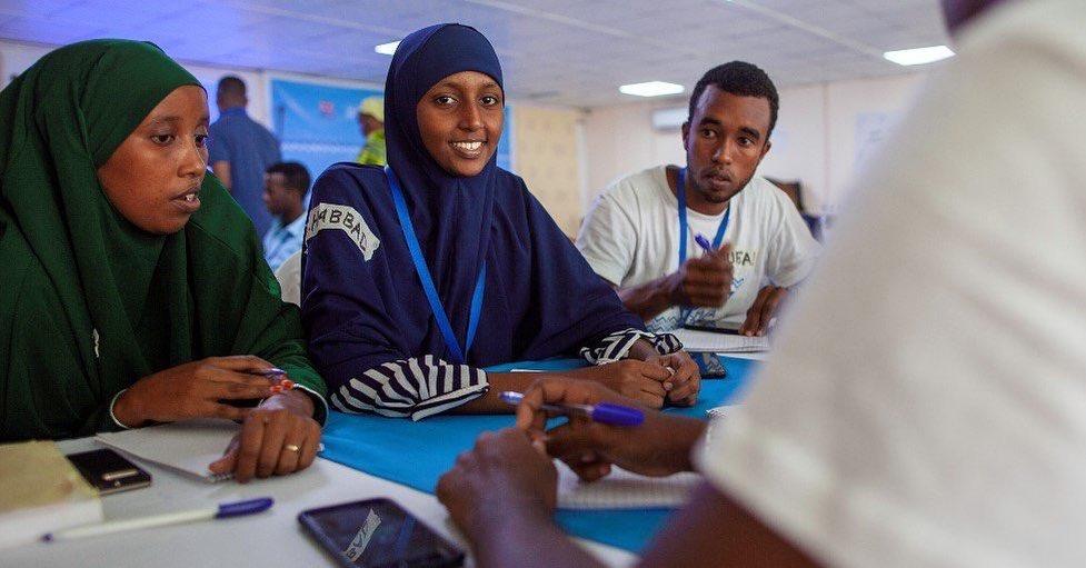 Girls, Somalia, UNICEF, DOT, design, social innovation, africa, youth africa, social entrepreneurship, future, future thinking