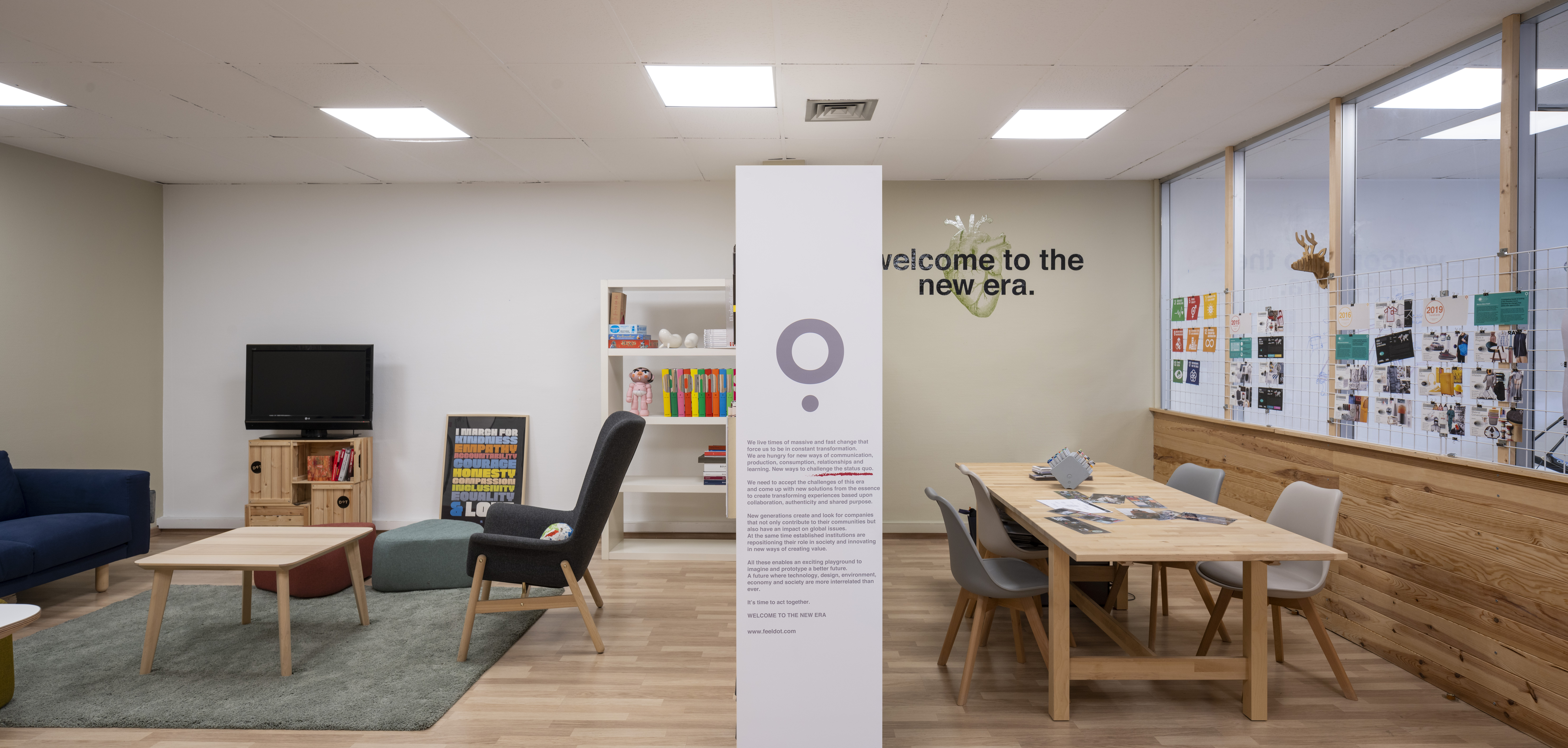 Entrance- DOT- design - strategy - product - office - workspace - innovation - headquarters - Bilbao