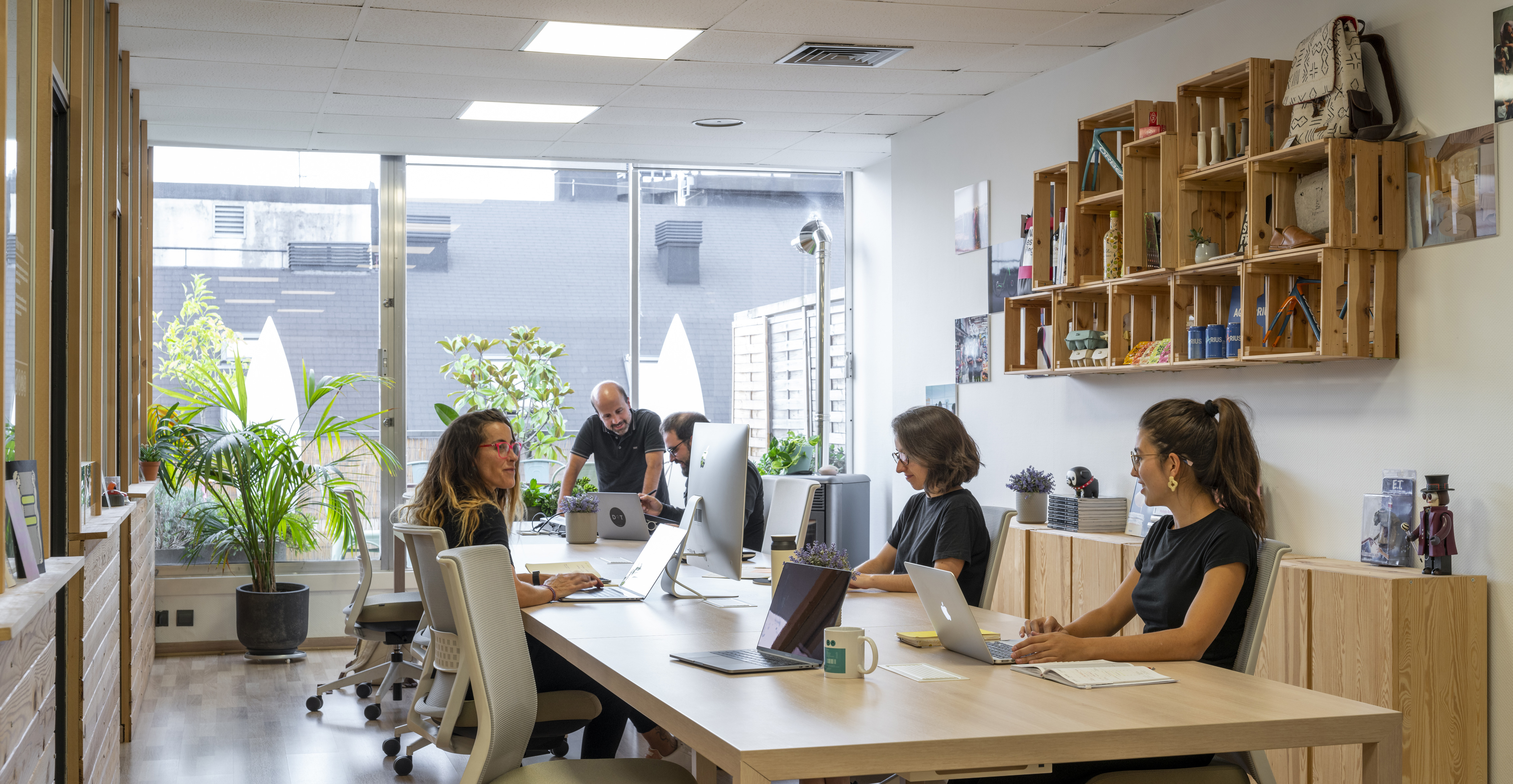 Open space 2- DOT- design - strategy - product - office - workspace - innovation - headquarters - Bilbao