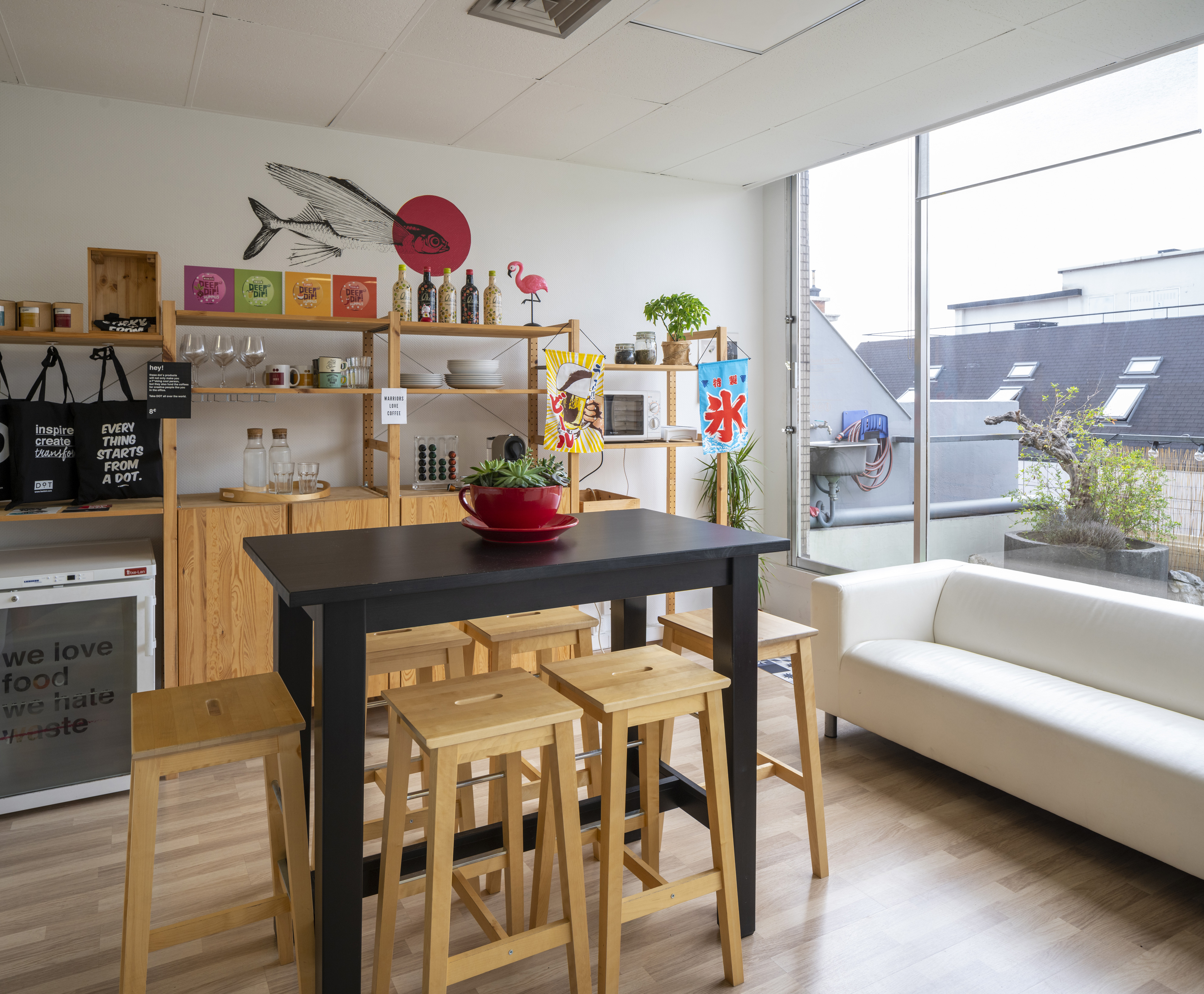 Kitchen- DOT- design - strategy - product - office - workspace - innovation - headquarters - Bilbao